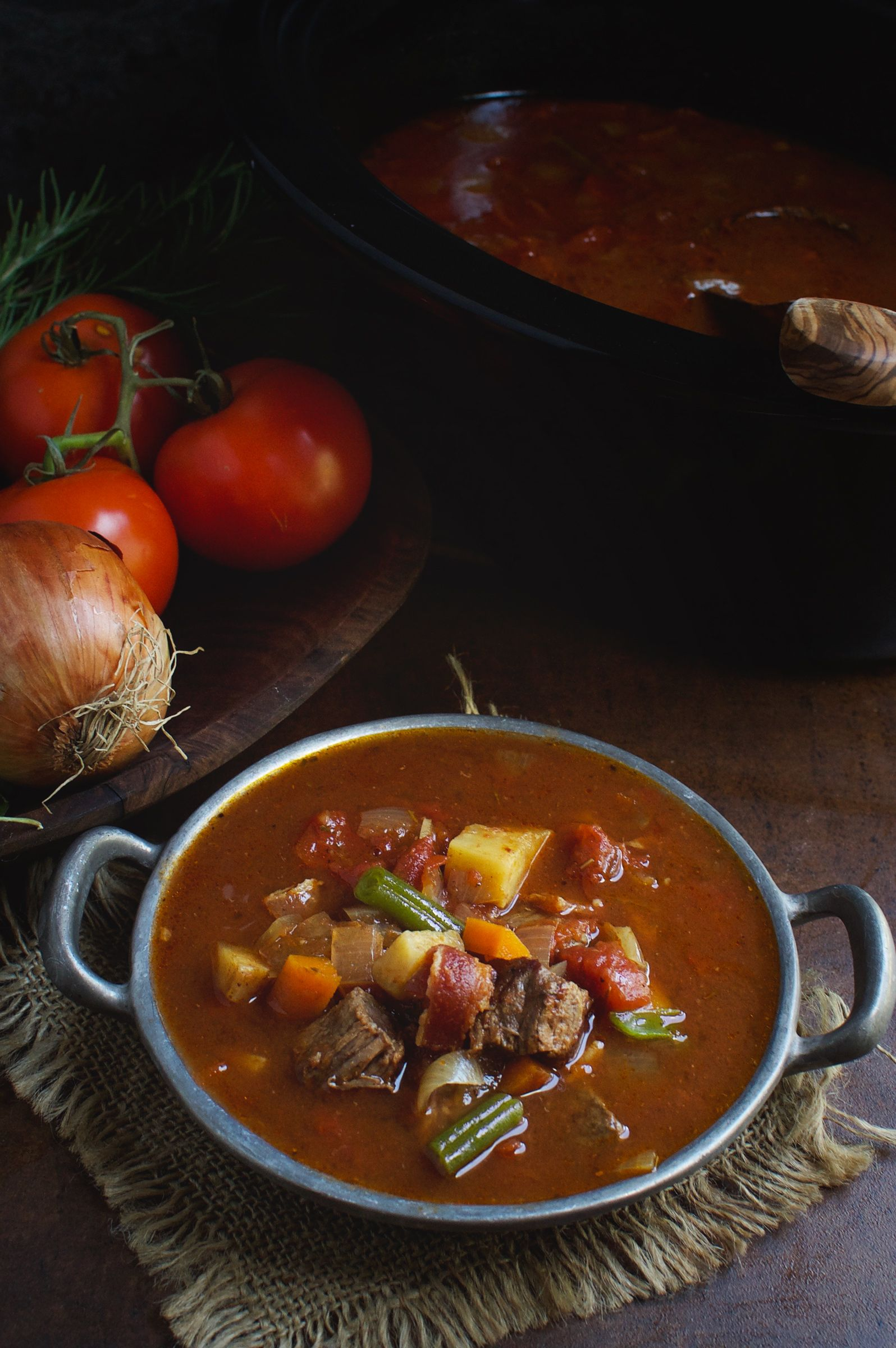 Low Carb Slow Cooker Vegetable Beef Soup Recipe Simple