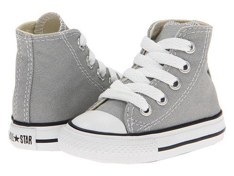 Converse Kids Chuck Taylor® All Star® Hi (Infant Toddler) Mirage Gray 971235349