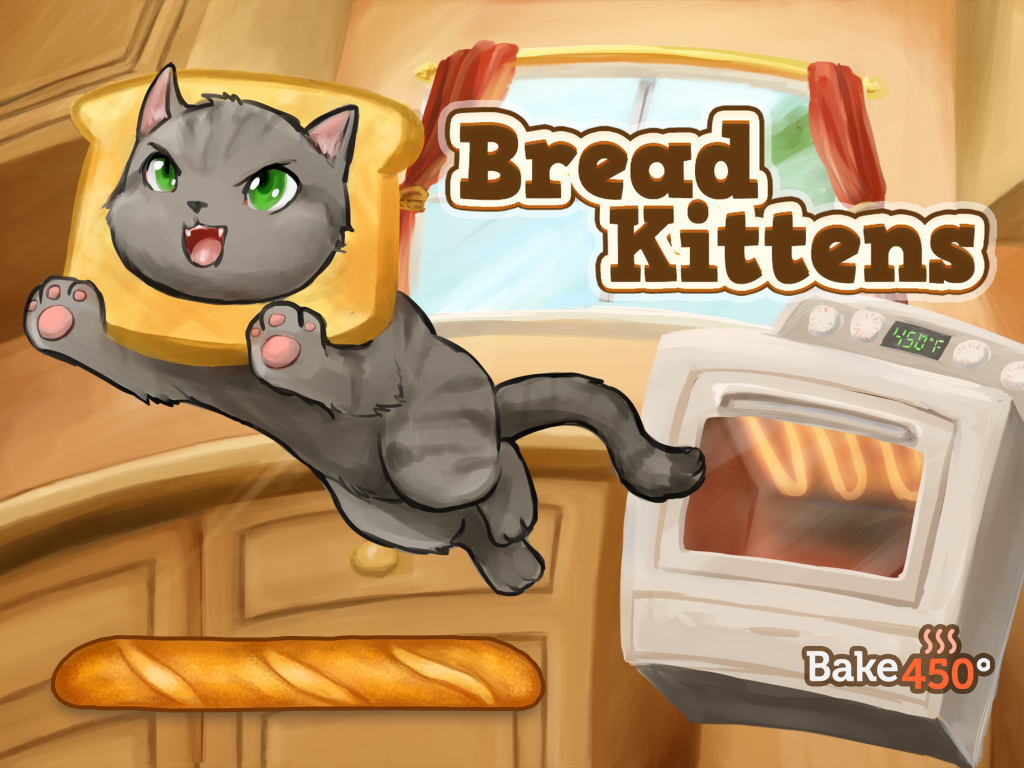 Bread Kittens Review iPhone & iPad Game Reviews InfoBarrel