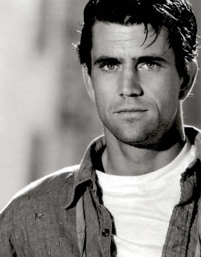 Young Mel Gibson Stunning Those Eyesunettes With Blue Eyes