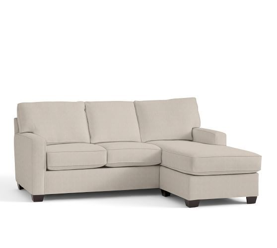 Buchanan Square Arm Upholstered Sofa With Reversible Chaise