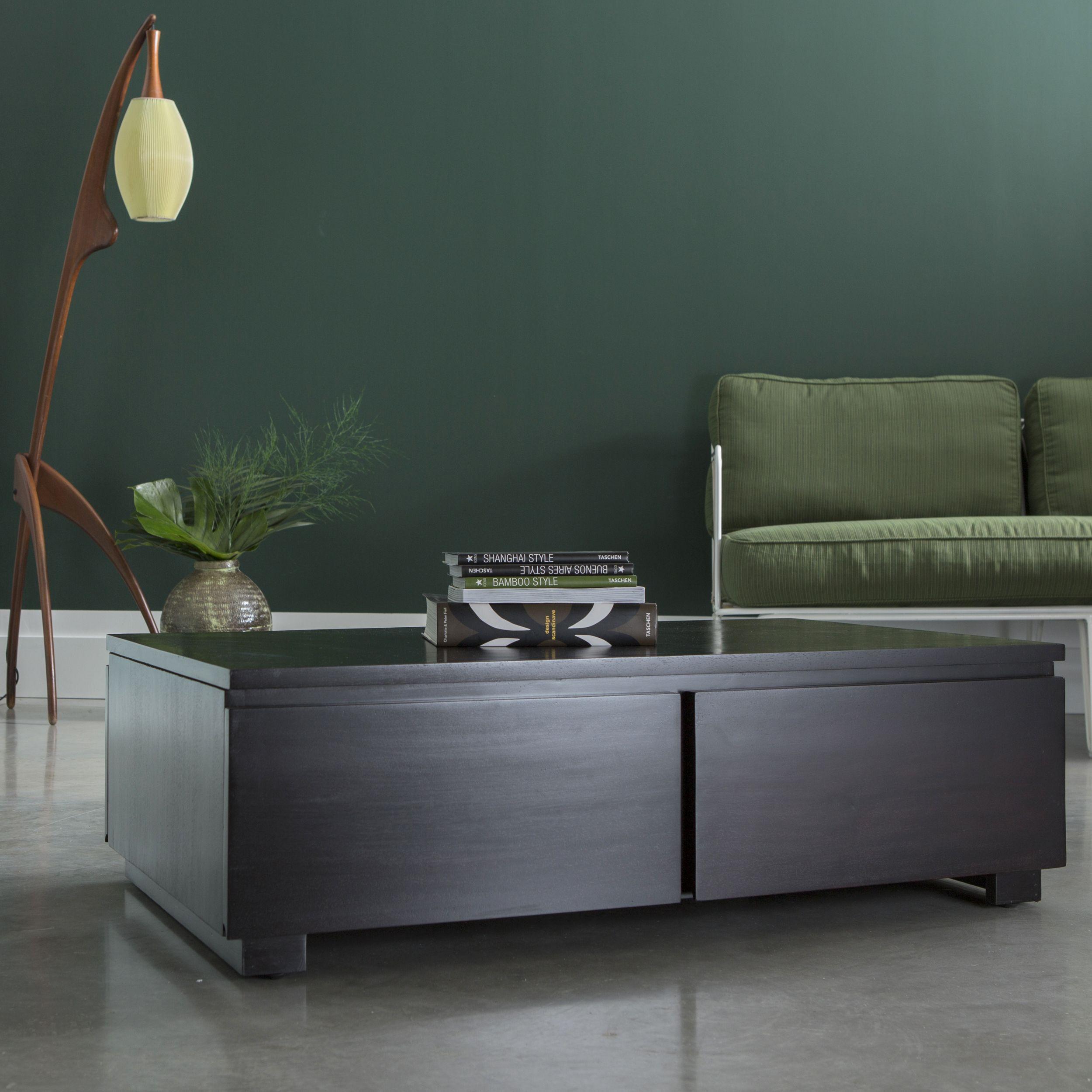 Table Basse En Acajou 100 X 60 Cm Mobilier Pour Le Salon Table Basse Table Basse Teck Table Basse Bois Massif