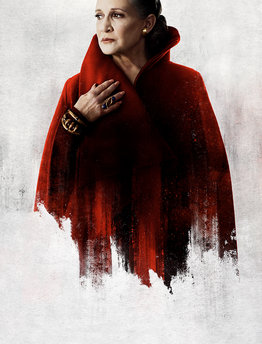 Star Wars The Last Jedi Character Posters Uncropped And Without Text General Leia Png 540 710 Star Wars Watch Star Wars Wallpaper Leia Star Wars