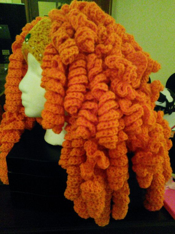 Handmade Crochet Princess Merida inspired hat by AgirlandherMom ...