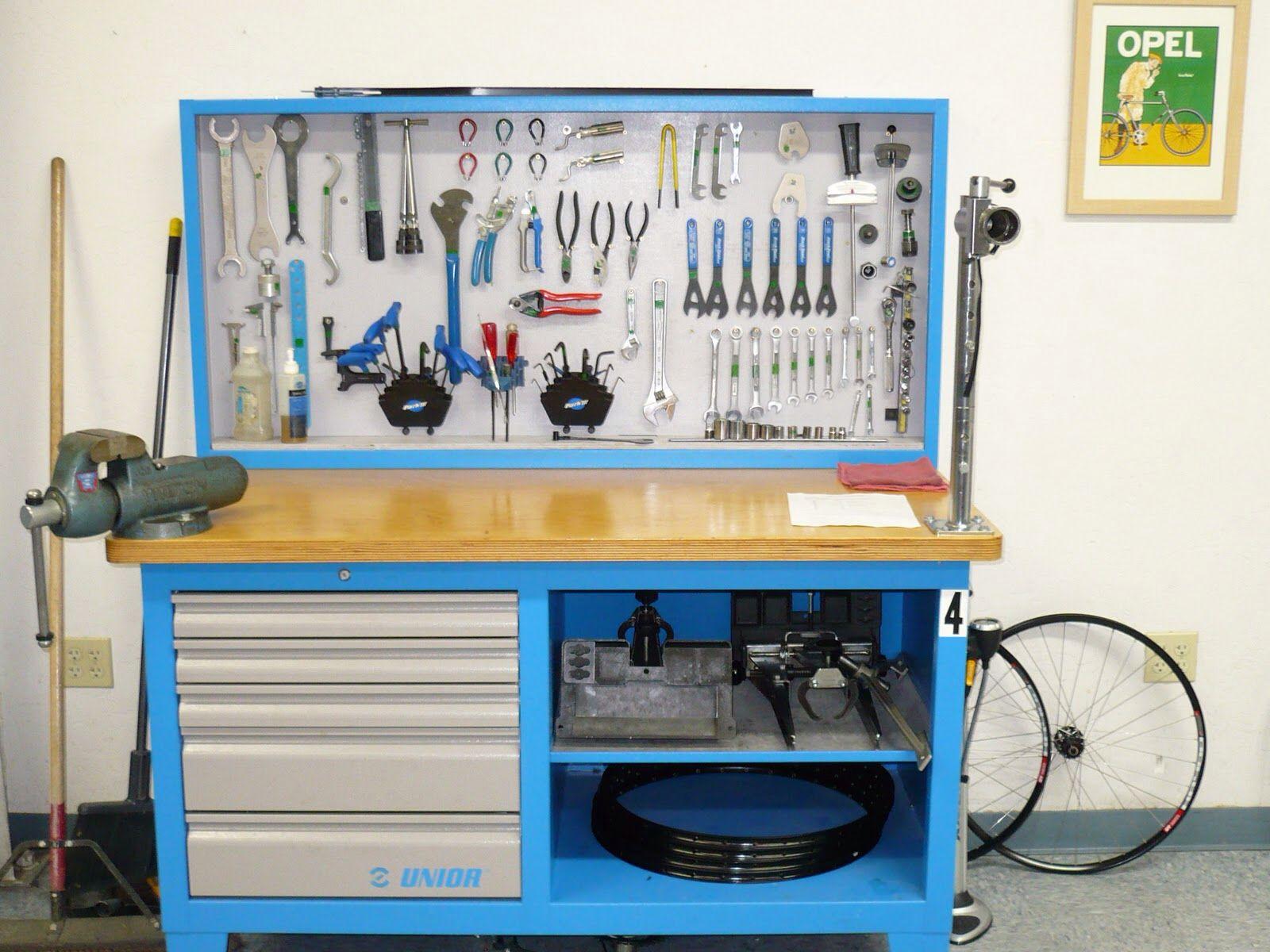 Workbench Bike Shop Ideas Pinterest Bench