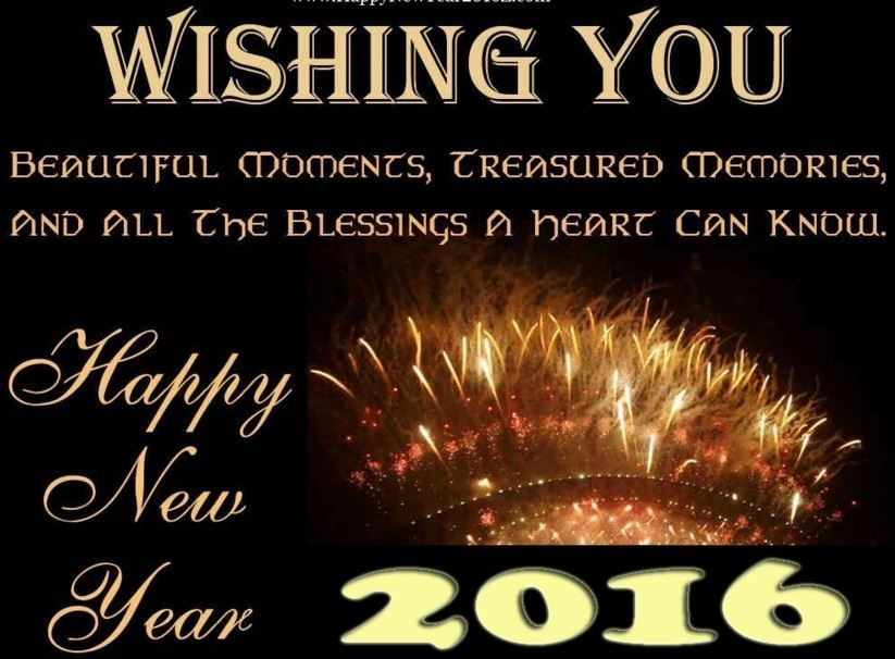 Happy New Year 2016 HD Wallpapers, Images, Pictures, Background ...