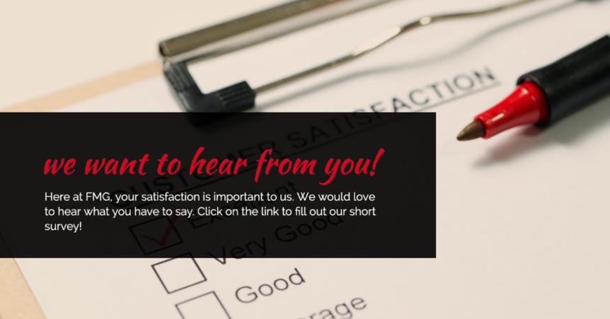 Customer Surveys Focus Marketing Group In 2020 Customer Survey