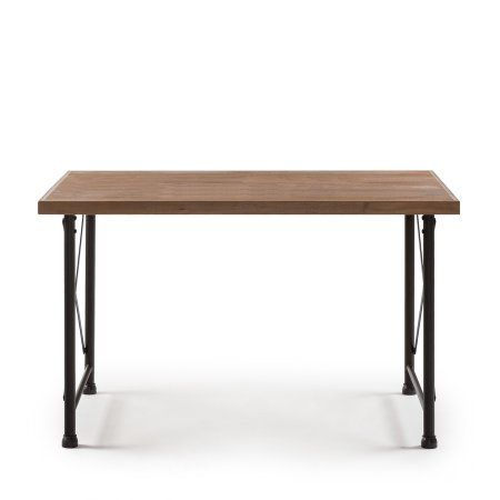 Zinus Alicia Industrial Style Dining Table Industrial