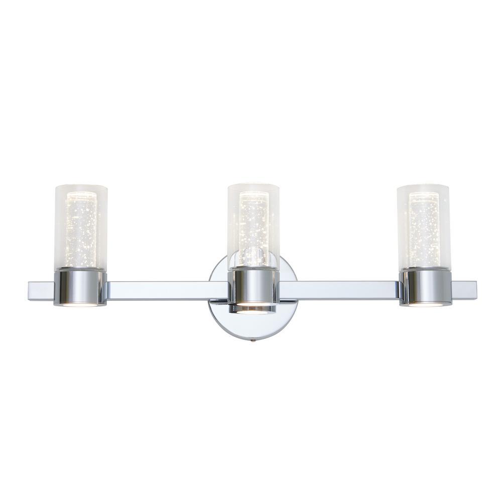 Artika Essence 27 In Chrome Led Vanity Light Bar Van3no Hd2 The