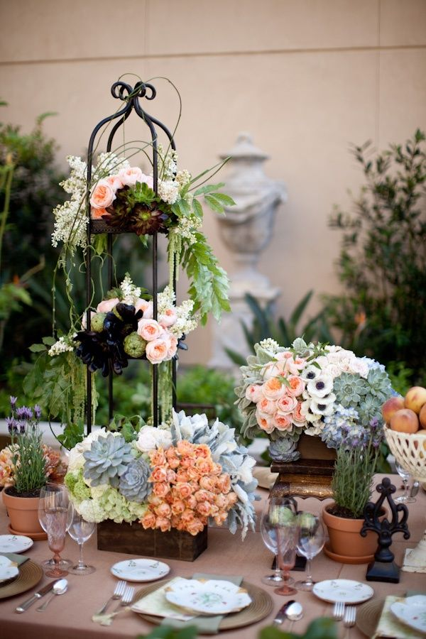 Gorgeous Garden Wedding Decor Weddingreception Tablescape