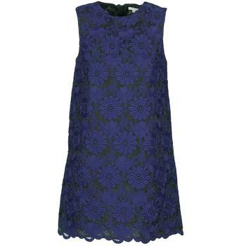 Kurze Kleider Manoush AFRICAN ROBE Blau / Schwarz 279.00 €