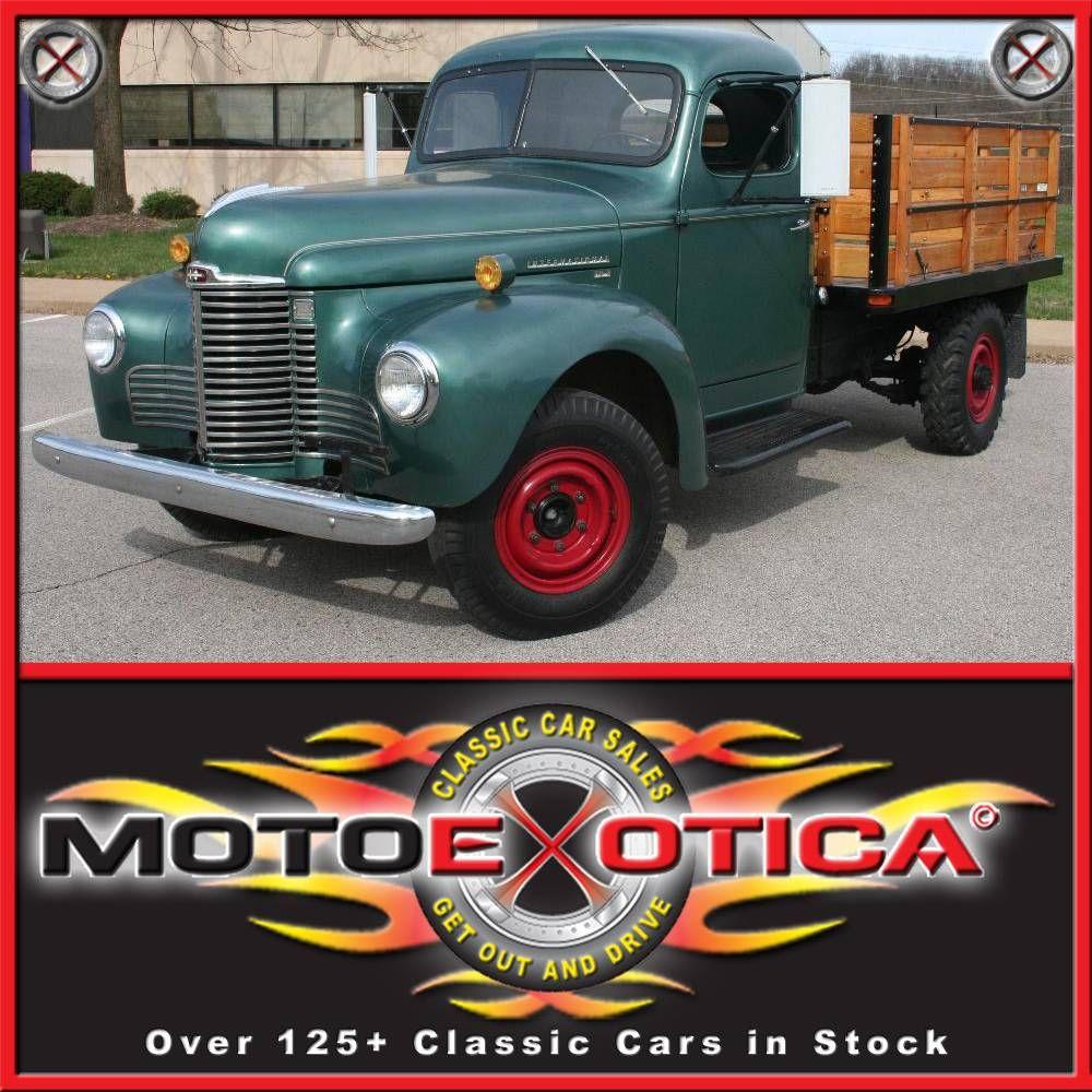 MotoeXotica.com Classic Car Sales | International Trucks | Pinterest ...