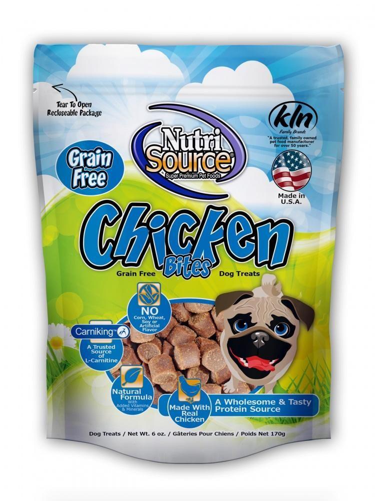 NutriSource Grain Free Chicken Dog Treats Chicken for