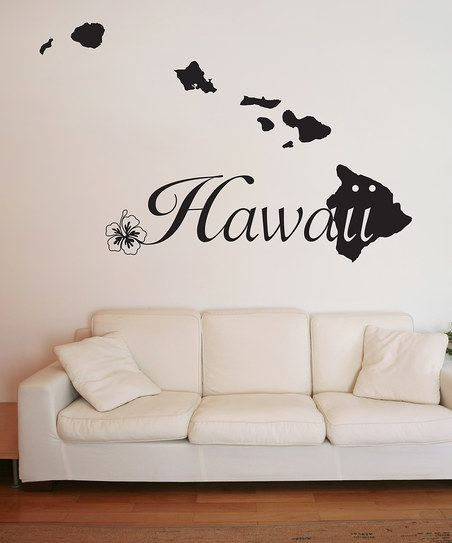Wall Spirit Hawaii Wall Decal   zulily