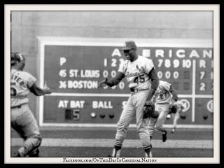 On This Day In Cardinal Nation 10 12 1967 At Fenway Park In Boston Massachusetts The Cardinals Clinched Their 8th World Series Cardinals Baseball Cardinals St Louis Cardinals