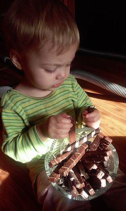 Najlepszy degustator z rodziny :) #drGerard #wiecejrazem https://www.facebook.com/photo.php?fbid=1024393594279587&set=p.1024393594279587&type=3