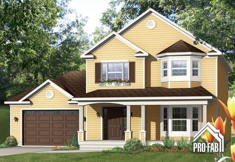 Pro-Fab Constructeur de maisons modulaires, usinées, préfabriquées - modeles de maison a construire