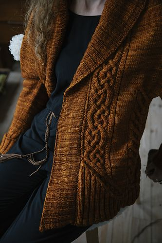 Sode pattern by Hiroko Payne / The Hare And The Crow #knittinginspiration