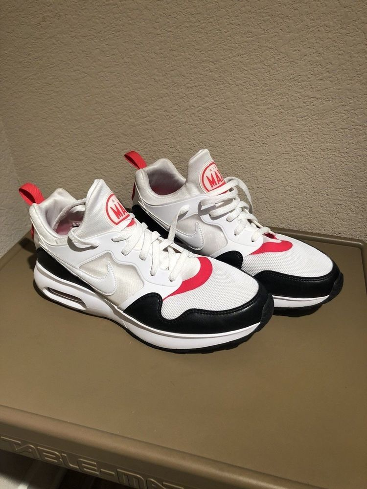100% authentic dfce7 2d584 Nike Air Max Prime Running Shoes White Siren Red Black 876068-102 Size 11   fashion  clothing  shoes  accessories  mensshoes  athleticshoes (ebay link)