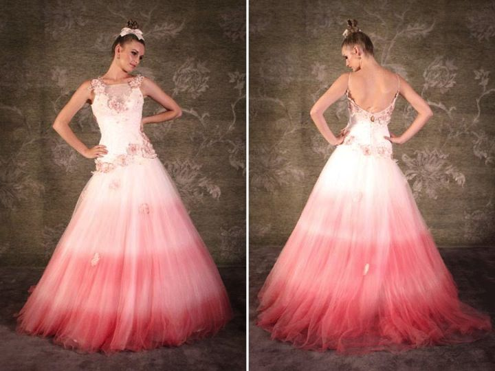 ombre wedding dress | Tumblr | Ombre Wedding | Pinterest | Ombre ...