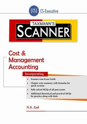 Scanner - Cost & Management Accounting (CS-Executive) | Course