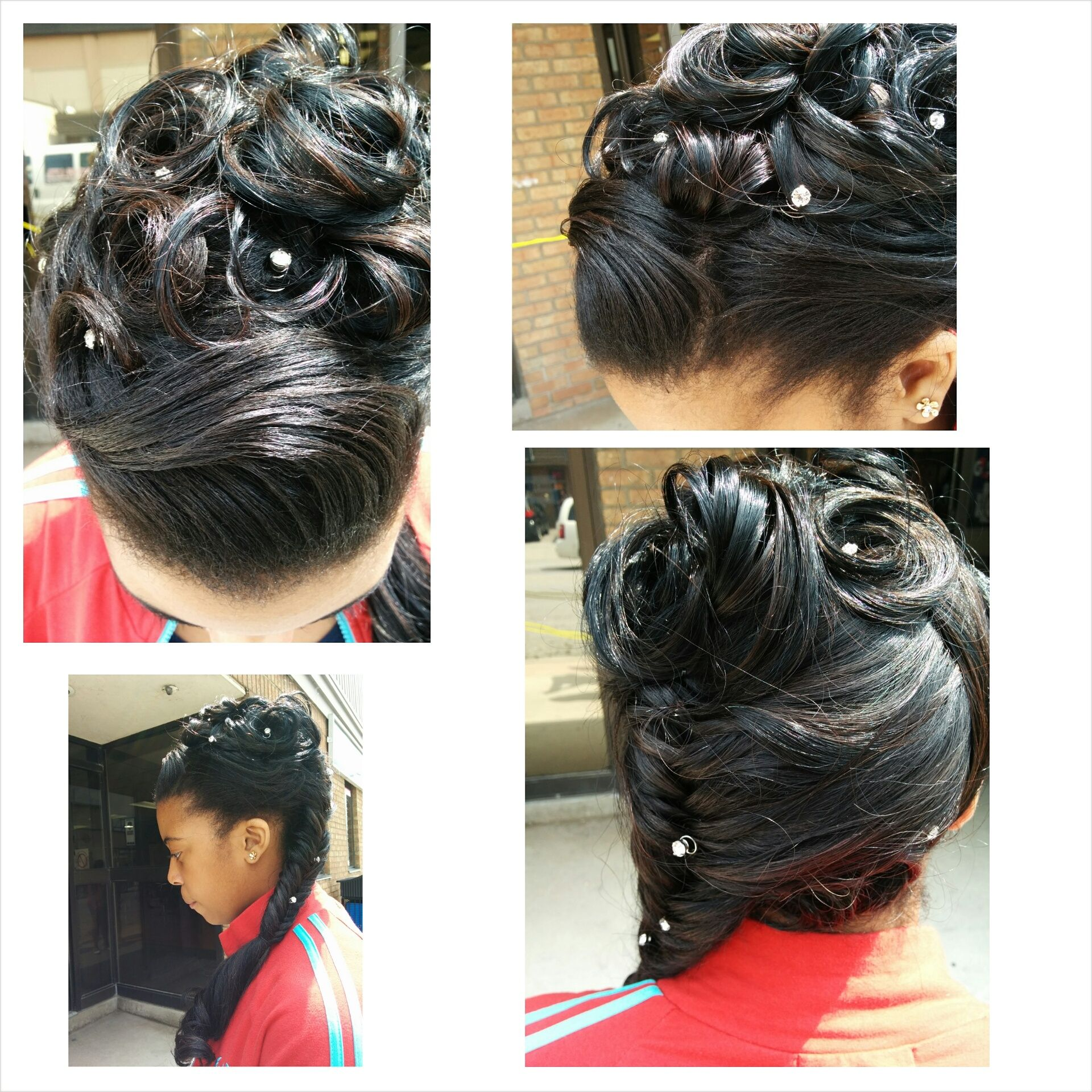 Extensions And Updo Prom Grad Hair Plus More At Entice Salon 311