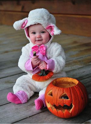 Disfraces para bebes Halloween 2015 ovejita daniela nicole - trajes de halloween para bebes
