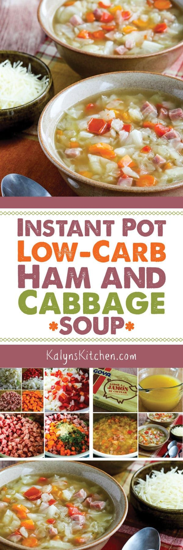 Instant Pot Low Carb Ham And Cabbage Soup Also Slow