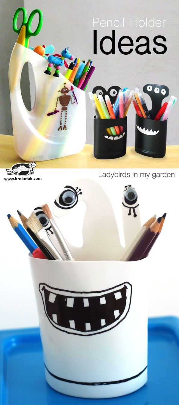 Pencil holders. Gloucestershire Resource Centre http://www.grcltd ...