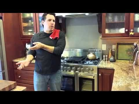 Cooking Italian with Joe How to Make Homemade Roasted Peppers with Olive Oil and Garlic
