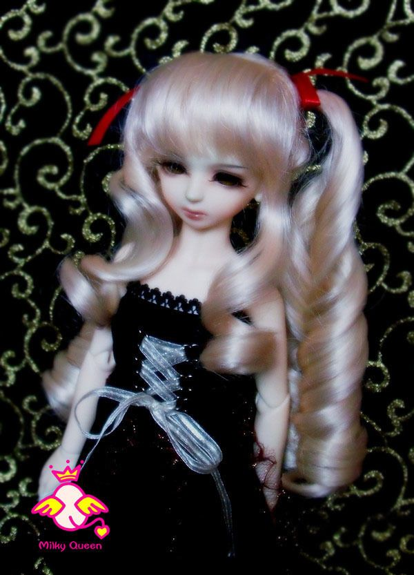 Wig for 1/4 BJD dollfie (Luts MSD DZ DOD) #19