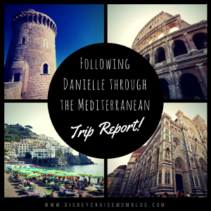 Following Danielle Through The Mediterranean Trip Report Day