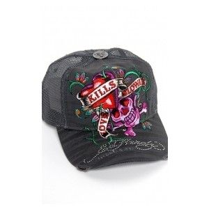 f3c347613a1 Love Ed Hardy hats! I like this one especially in the gray color ...