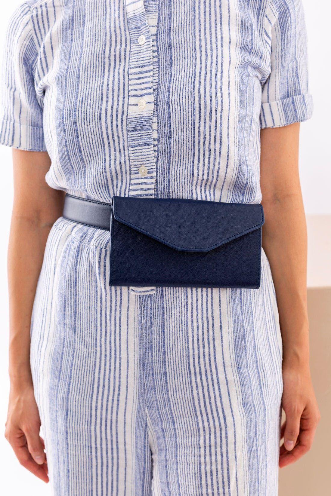 dc4cf0116bd DIY Trendy Belt Bag: Easy Tutorial | feeling crafty | Diy bag belt ...