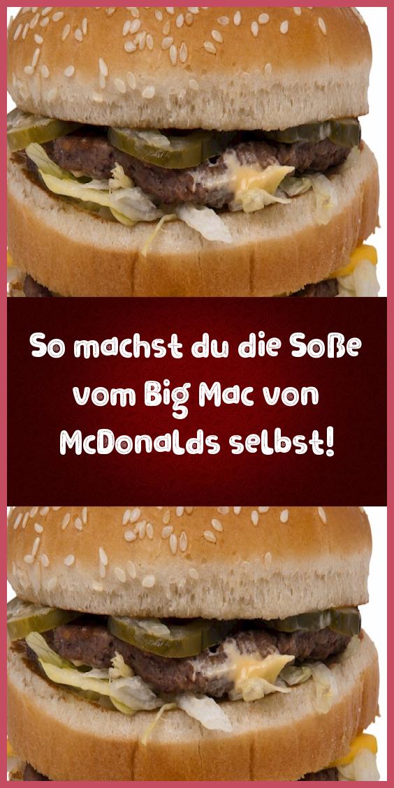 Photo of How to make McDonalds Big Mac sauce yourself!