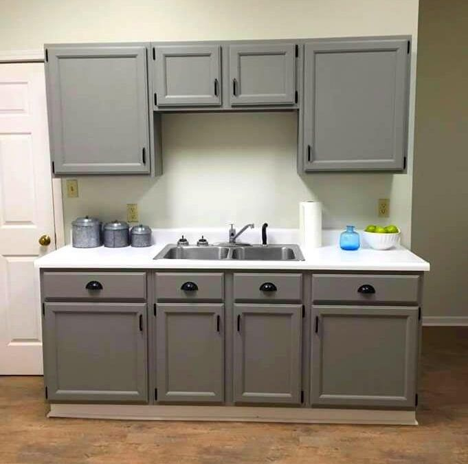 Painting Kitchen Cabinets With