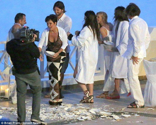 Kris Jenner, Kylie Jenner, Kendall Jenner, Bruce Jenner, Brandon Jenner and Leah Felder Jenner