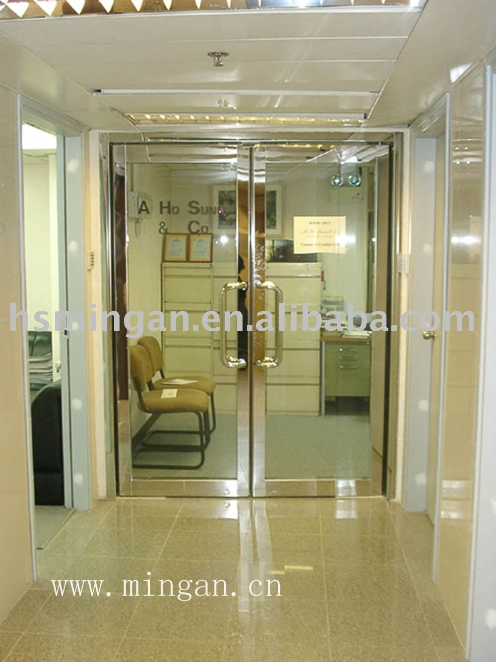 Fire Clear Frameless Rated Glass Doors
