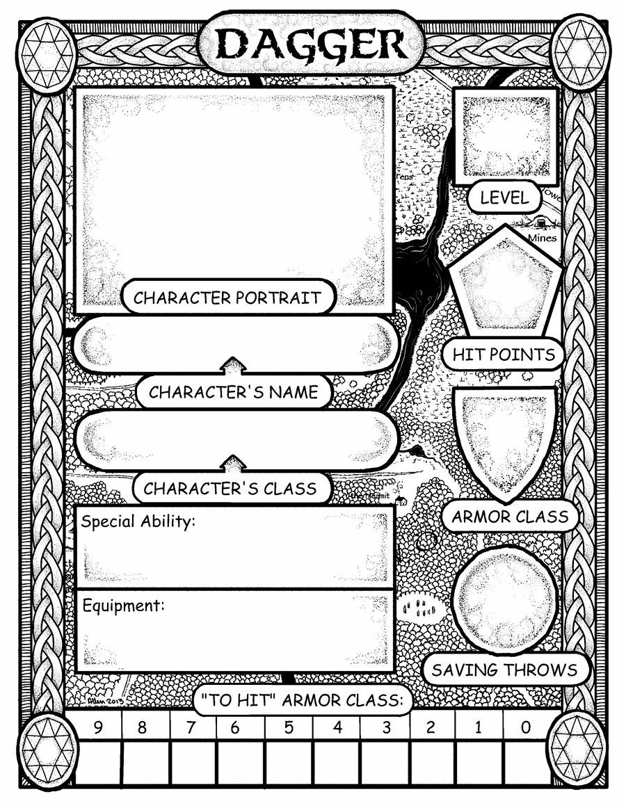 Pin von David Ellison auf Role Playing Character Sheets | Pinterest