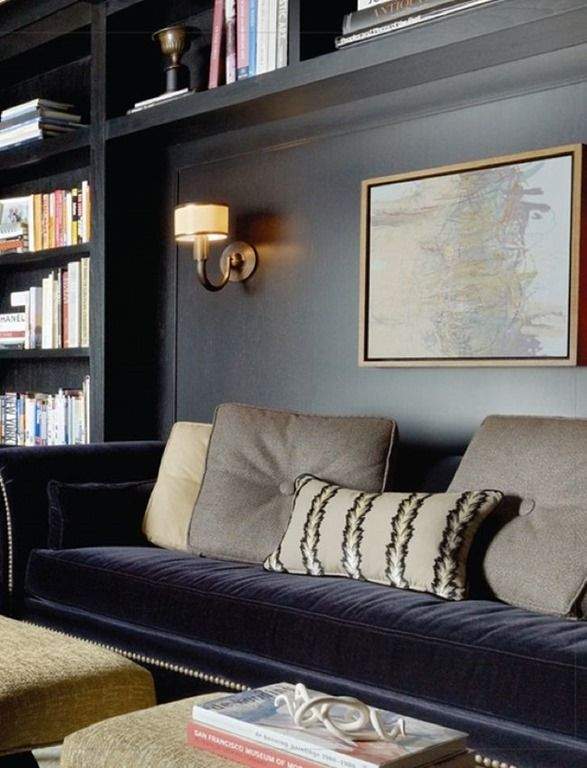 Built In Sofa Library
