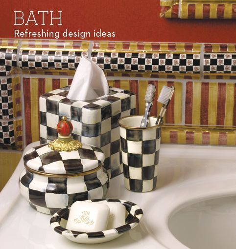 Lovely Canu0027t Wait To Decorate A Bathroom With All Mackenzie Childs Decor