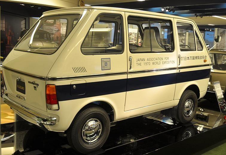 Suzuki Old Van Archives 軽バン かわいい車 ノスタルジック カー