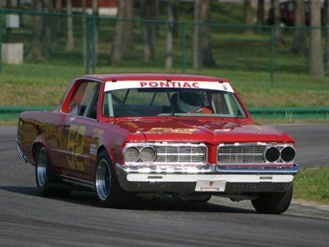 Pontiac Gto Vintage Road Racing Car Vintage Race Cars