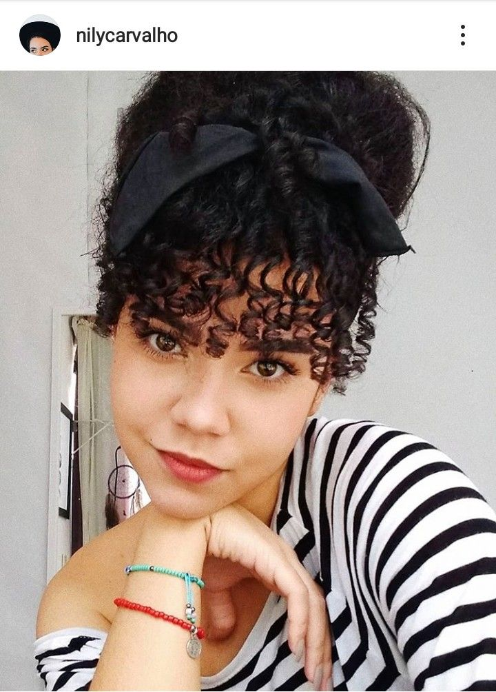 Hairstyle for curly hair #curlyhair #cabelocacheado #curls #naturalhair #naturalcurlyhair #cacheadas #penteados #penteadosoparacabelocacheado #hairstyleforcurlyhair