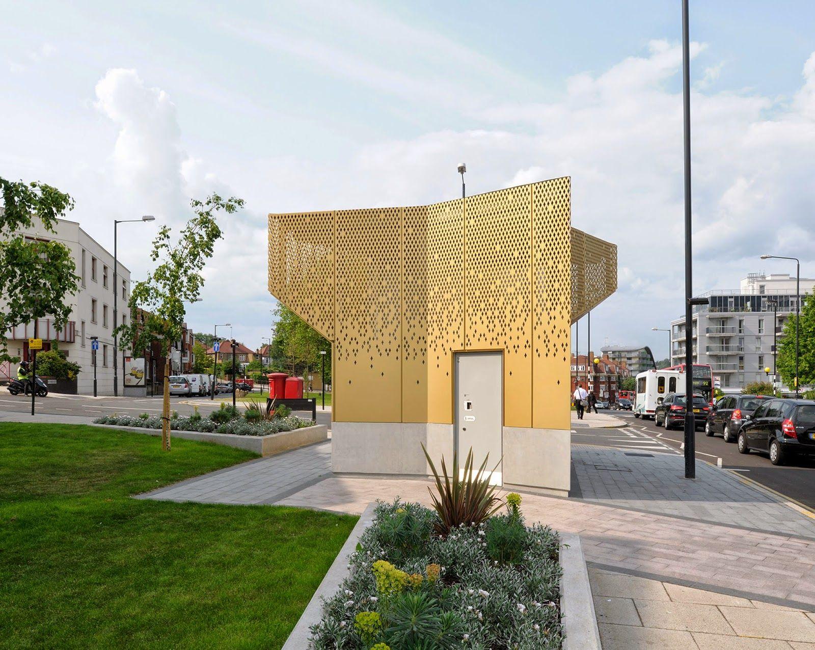Archetcetera Public Toilets By Gort Scott Architects
