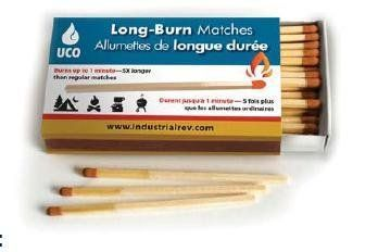 Camping Candles - UCO LongBurn 3 34 Long Matches Camping Survival Lot Of 6 *** More info could be found at the image url.