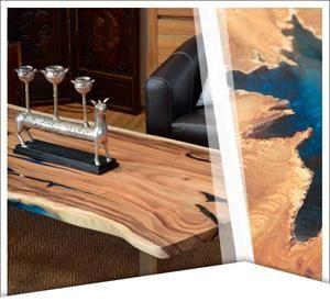 Meuble Teck Bois Massif Naturel Teck Resine Design Meubles En Teck Mobilier De Salon Table Basse Plateau