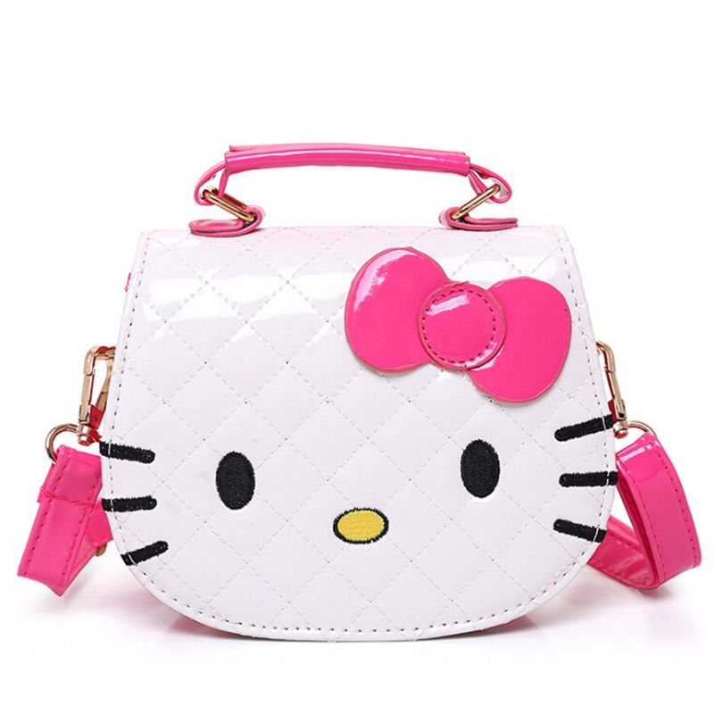 21cfa649a8 New Girls Cute Shoulder Bag Children Cartoon Hello Kitty Bowknot Handbag  Kids Tote Girls Shoulder Bag Mini Bag   Price   14.98   FREE Shipping      hashtag1