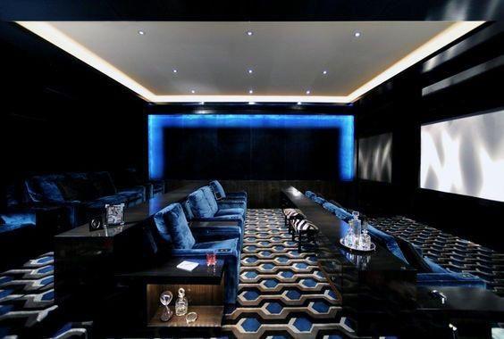 80 Home Theater Design Ideas For Men - Movie Room Retreats ...