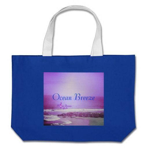 Ocean breeze beach tote